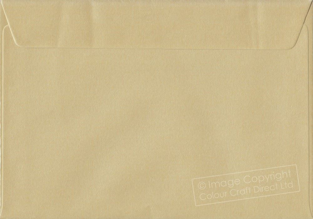 110 mm x 220 mm Self Seal Colour Business DL Envelopes Golden Yellow DL