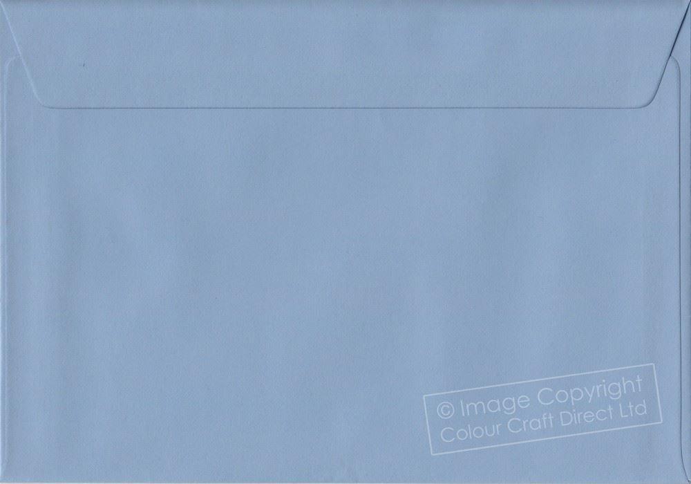 Baby Blue C5 Envelopes 162 mm x 229 mm 100gsm Gummed A5 Size Colour Envelopes
