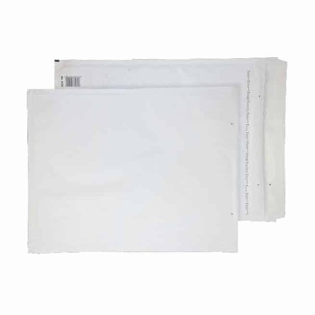 White Padded 430mm x 300mm Bubble Lined Envelopes (Box Of 50)