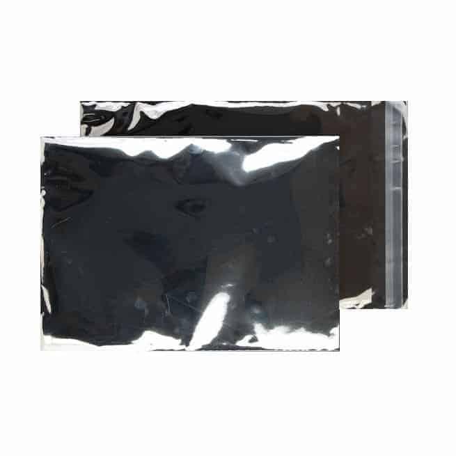 Metallic Silver 70 micron 324mm x 229mm Shiny Foil Envelopes (Box Of 250)