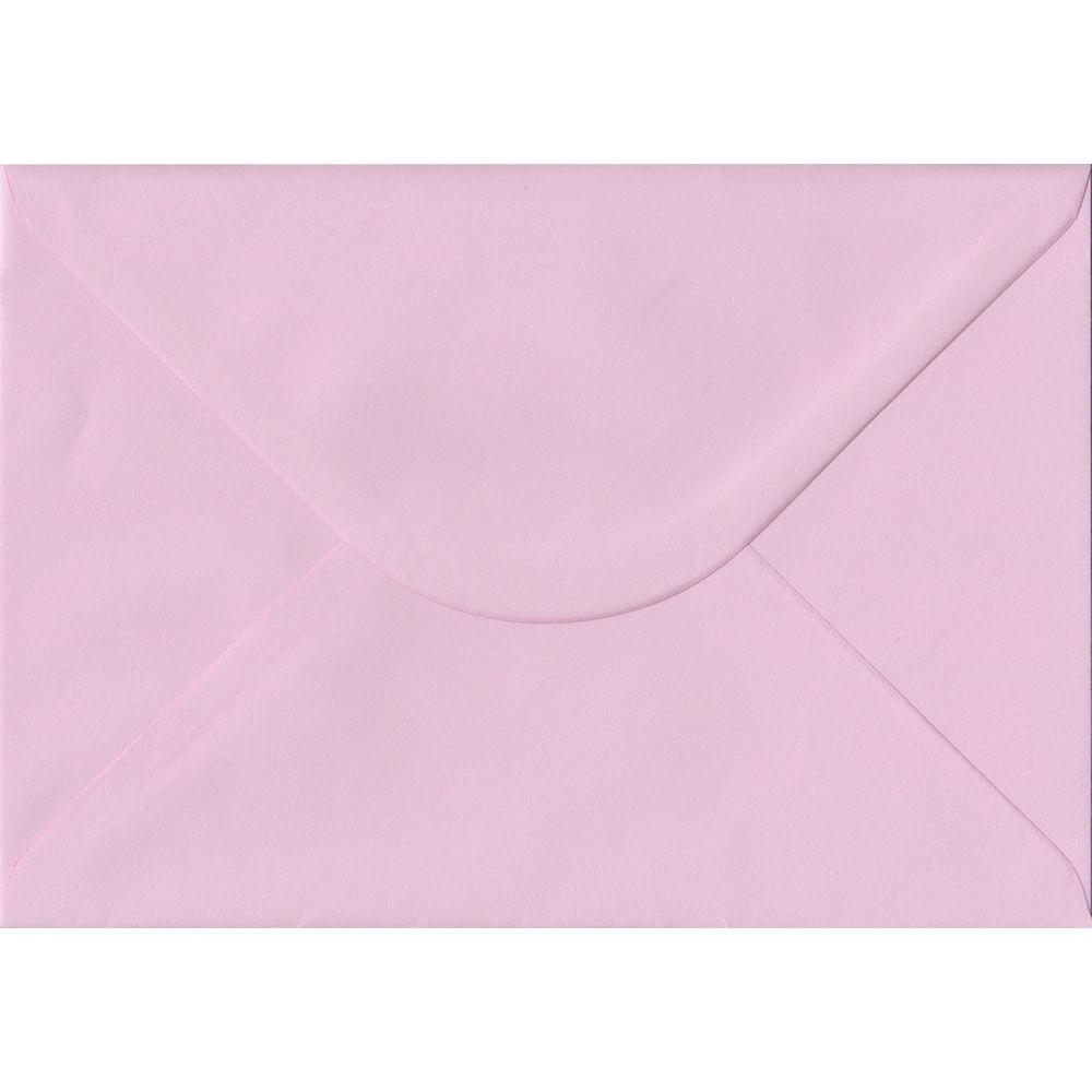 100 A5 Pink Envelopes. Baby Pink. 162mm x 229mm. 100gsm paper. Gummed Flap.