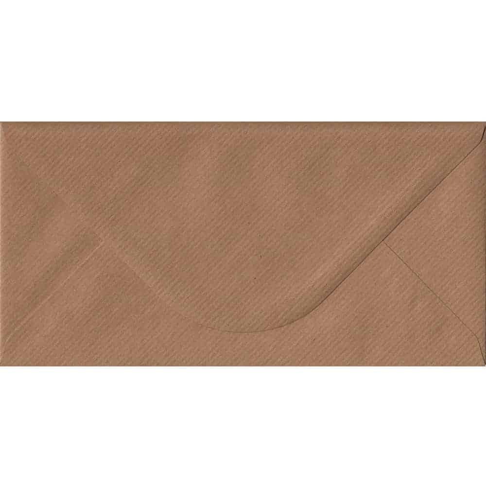 100 x DL Premium White Gummed Envelopes 110 x 220mm 100gsm