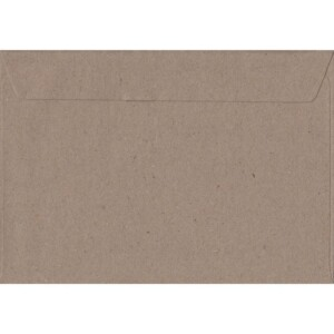 100 A5 Kraft Envelopes. Recycled Fleck. 162mm x 229mm. 100gsm paper. Peel/Seal Flap.