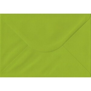 100 A5 Green Envelopes. Fresh Green. 162mm x 229mm. 100gsm paper. Gummed Flap.