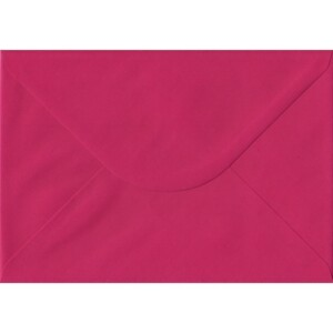 100 A5 Pink Envelopes. Fuchsia Pink. 162mm x 229mm. 100gsm paper. Gummed Flap.