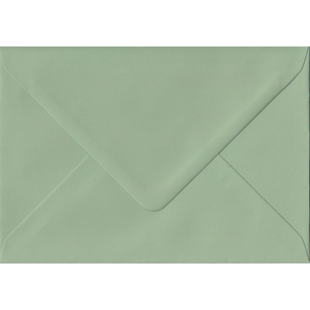 82mm x 113mm heritage green c7 a7 card envelopes solid green colour