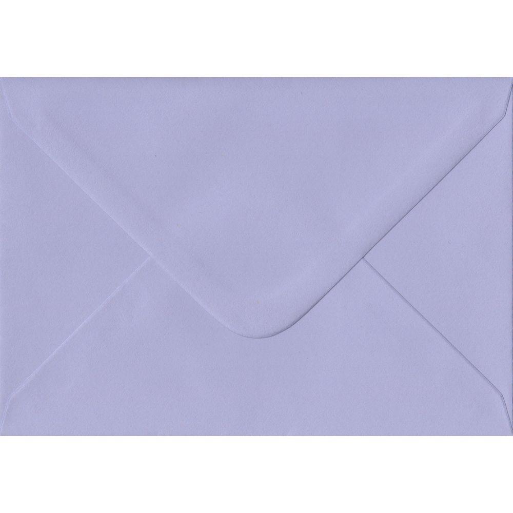 100 A5 Lilac Envelopes. Lilac. 162mm x 229mm. 100gsm paper. Gummed Flap.