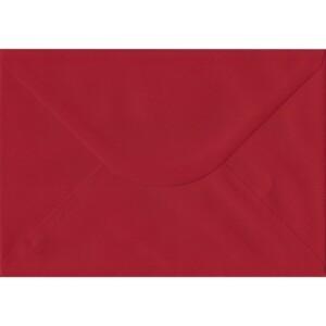 100 A5 Red Envelopes. Scarlet Red. 162mm x 229mm. 100gsm paper. Gummed Flap.