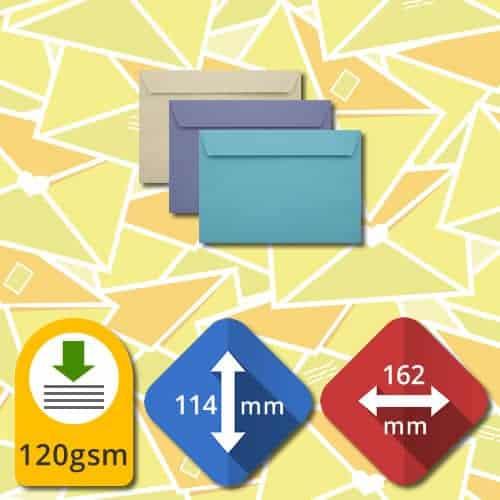 C6 (114x162) Self Sealing Luxury Envelopes