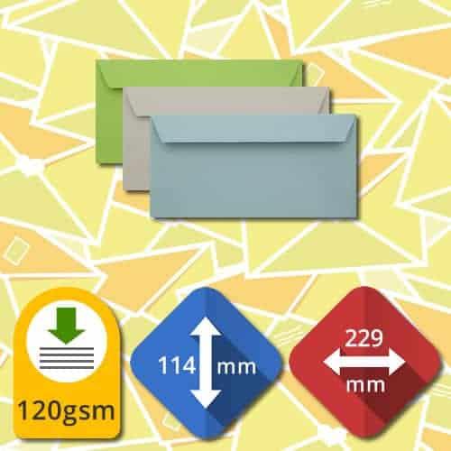 DL+ (114 x 229) Self Sealing Luxury Envelopes