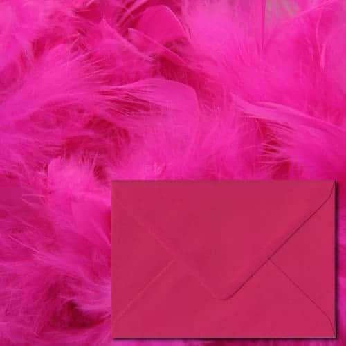Fuchsia Pink Colour Envelopes