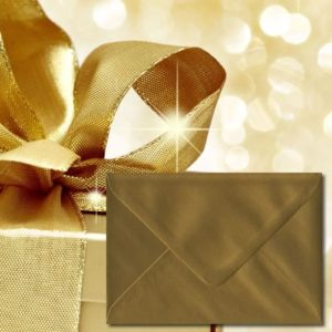 Gold Coloured Envelopes