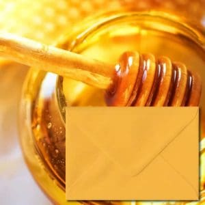 Golden Yellow Coloured Envelopes