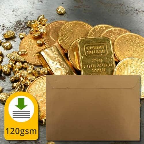 Metallic Gold 130gsm