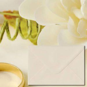 Ivory Coloured Envelopes