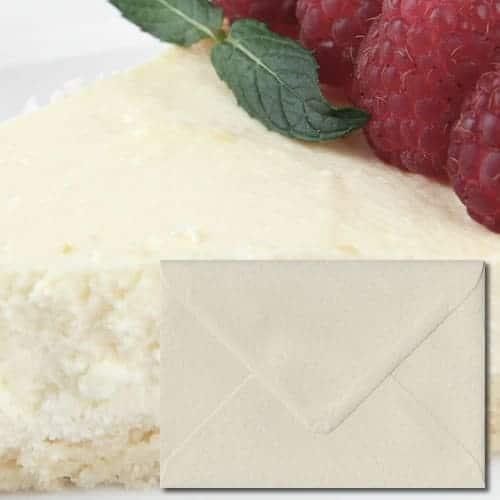 Ivory Hammer Textured Envelopes
