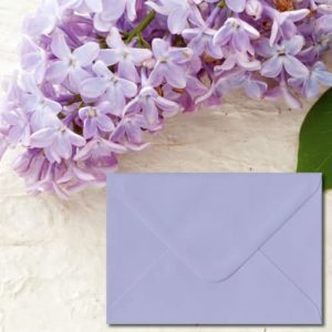 Lilac Coloured Envelopes