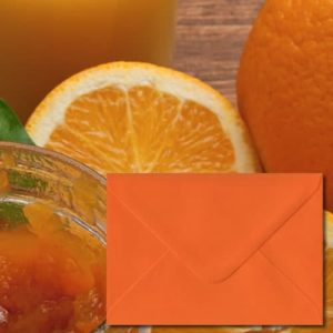 Orange Coloured Envelopes