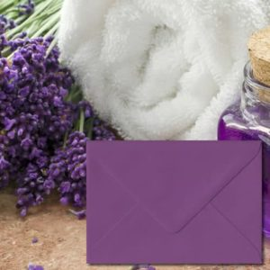 Purple Coloured Envelopes