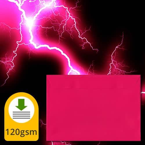 Shocking Pink Luxury Envelopes