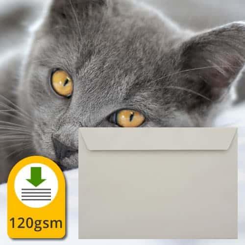 French Grey Luxury Envelopes