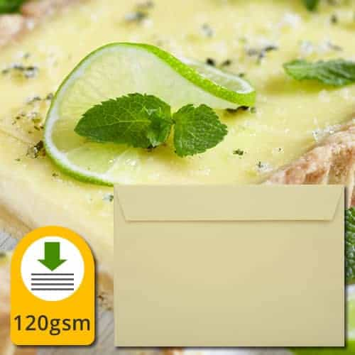 Sunlight Yellow Luxury Envelopes