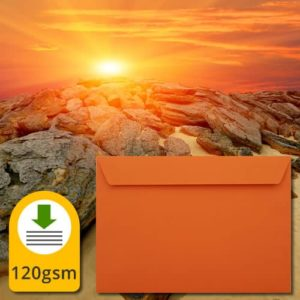 Sunset Orange Luxury