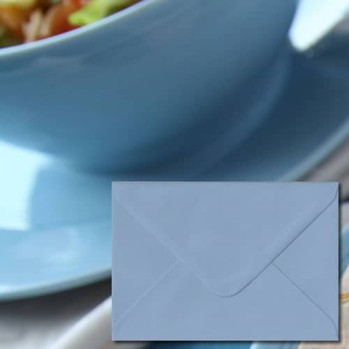 Wedgewood Blue Colour Envelopes