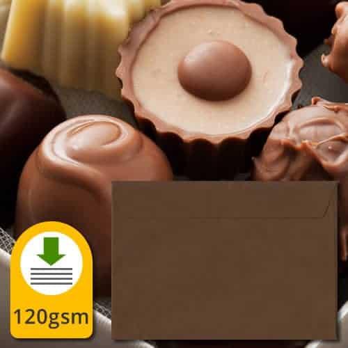 Chocolate Brown Luxury Envelopes