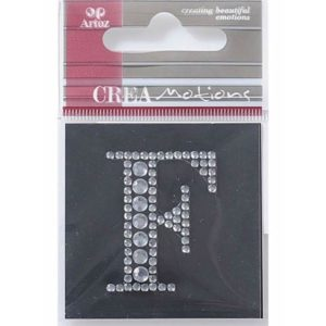 Diamond Crystal Letter F Craft Embellishment By Artoz