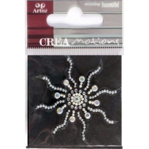 Crystal Sun Crystal Decorative Sticker Embellishment By Artoz