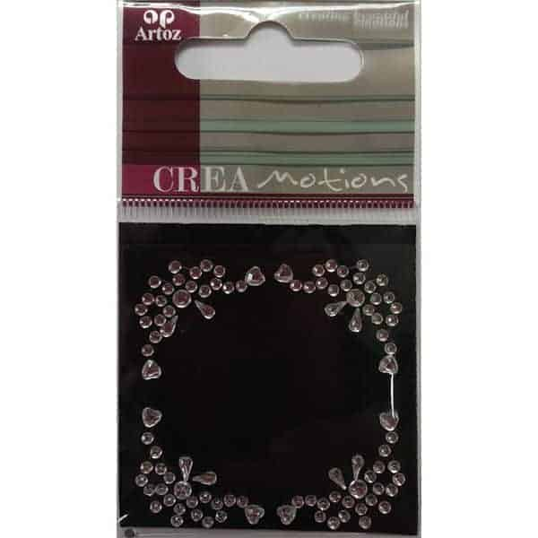 Clear Crystal Decorative Border Embellishment By Artoz