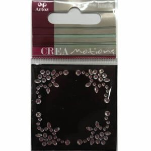 Clear Crystals Decorative Border Embellishment By Artoz