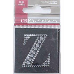 Diamond Crystal Letter Z Craft Embellishment By Artoz