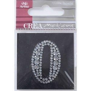 Diamond Crystal Number 0 Craft Embellishment By Artoz