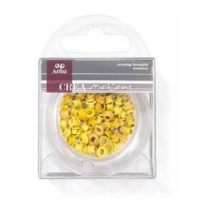 Assorted Yellow 3mm Eyelets By Artoz