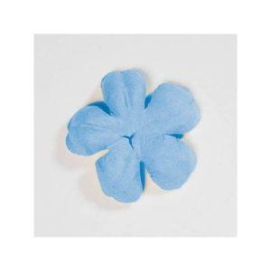 Dark Blue Blossom Paper Flower By Artoz