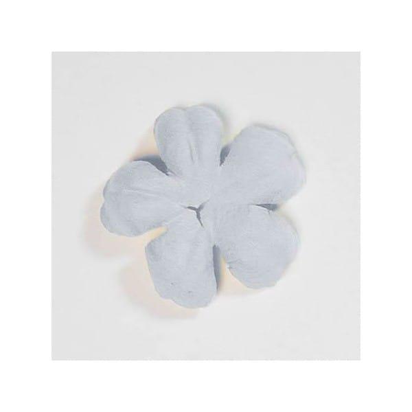 Light blue blossom paper flowers wedding card making craft light blue blossom paper flower by artoz mightylinksfo
