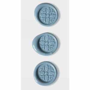 Pastel Blue Celtic Cross Wax Seals By Artoz