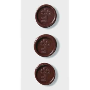 Brown Keys Wax Seals By Artoz
