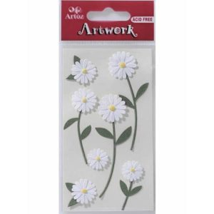 Big Daisies Craft Embellishment By Artoz