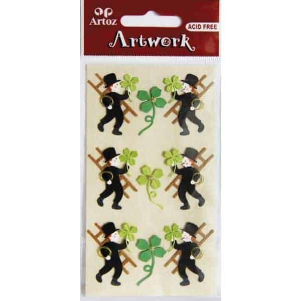 Chimney Sweeper And Clover Craft Embellishment By Artoz