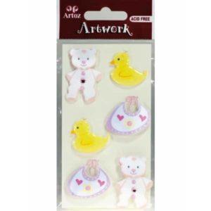 Baby Rose Craft Embellishment By Artoz