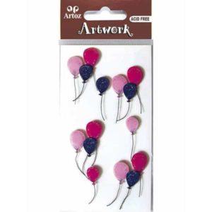 Balloon Celebration Craft Embellishment By Artoz