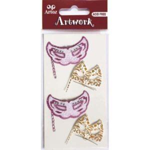Cat Masks Craft Embellishment By Artoz