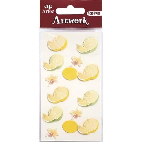 Lemon And Lime Craft Embellishment By Artoz