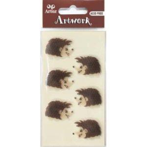 Hedgehog Embellishment By Artoz