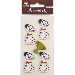 Dalmation Dog Embellishment By Artoz