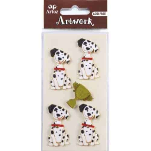 Dalmation Dog Embellishment By Artoz