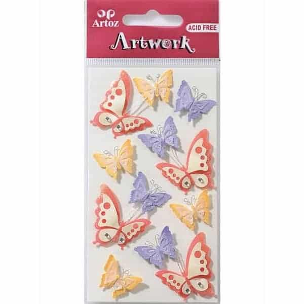Butterflies Craft Embellishment By Artoz